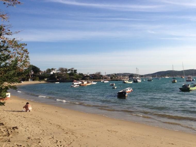 Praia dos Ossos em Búzios